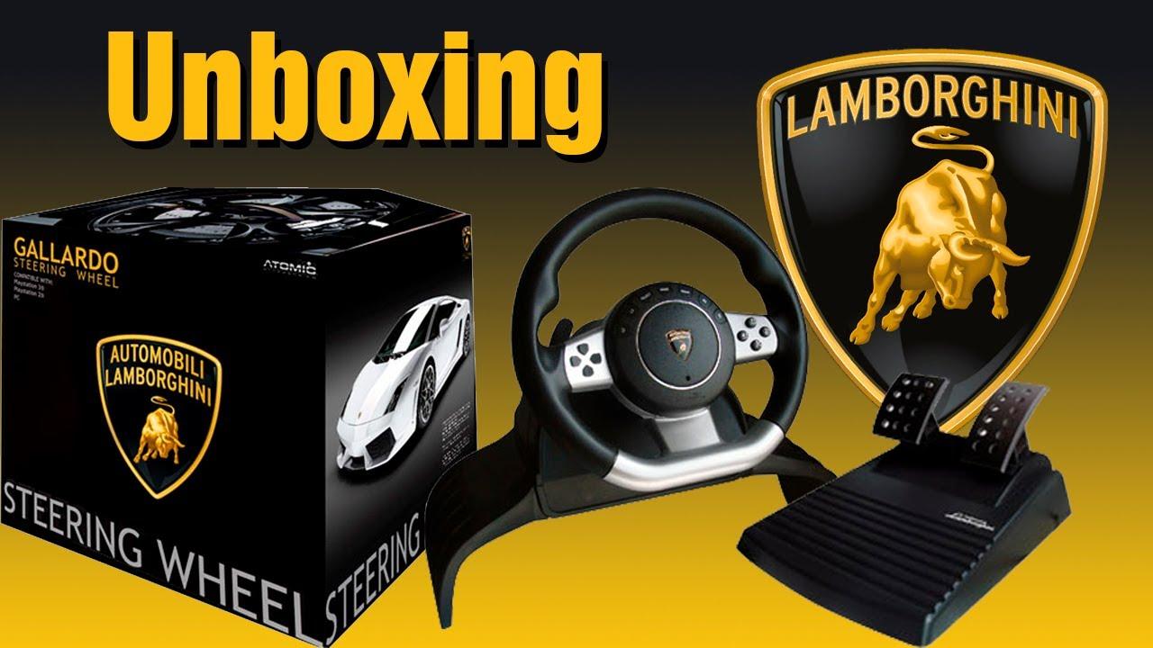 Lamborghini Gallardo Steering Wheel Unboxing Animado