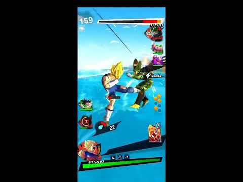 Dragon Ball Legends Majin Vegeta Pvp Gameplay 398%