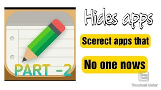 How to Hide app in any Android |part -02|| - secret app screenshot 3