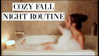 My COZY Fall Night Routine 2017 | Chelsea Trevor