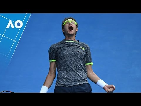 Denis Istomin v Novak Djokovic match highlights (2R) | Australian Open 2017