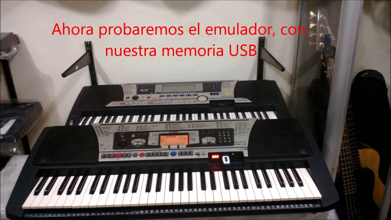 yamaha psr 340 550 350 adaptador de disquete a usb. Black Bedroom Furniture Sets. Home Design Ideas