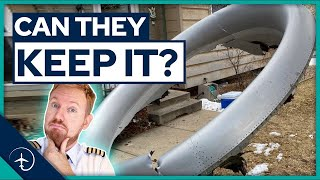 Can you KEEP Aircraft parts that falls on your house?! YOUR questions on UAL 328 answered.