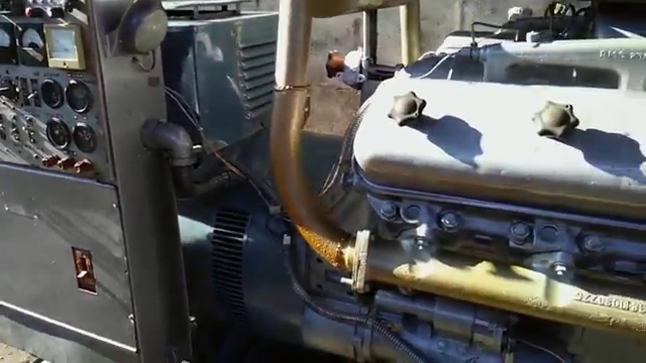 Дизельный генератор 100 кВт в Глобал Пайплайн Сервис Групп - YouTube