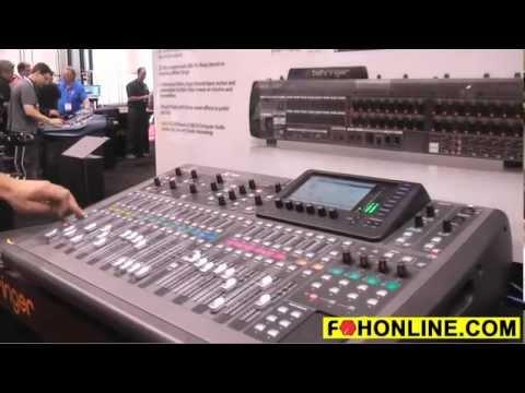 Behringer X-32 Digital Live Sound Mixer Video Demo