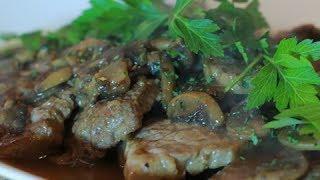 Dicksta's Dishes: Steak Marsala