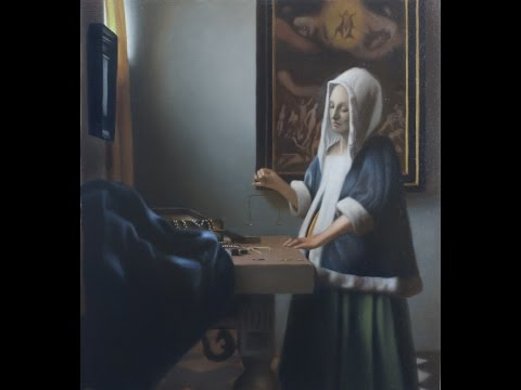 Johannes Vermeer painting technique - timelapse