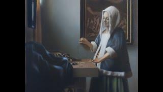 Johannes Vermeer painting technique - timelapse