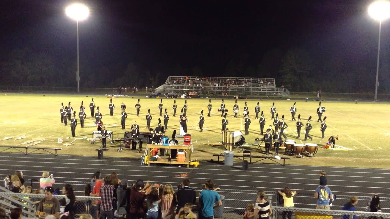 Topsail High School Marching Pirates   Football Game