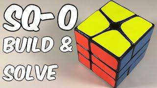 Square-0 Cube Mod - Building Process & Solve