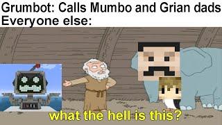 Hermitcraft Memes V31   Grumbot and Jrumbot