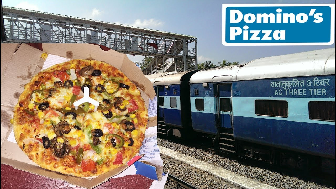 Order Dominos Pizza while Travelling in a Train in India ...