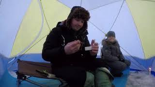 Зимняя рыбалка на Можайском водохранилище Красновидово