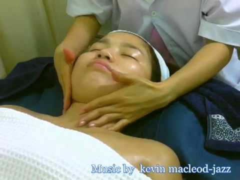 facial massage by nuskin and themasoft treatment