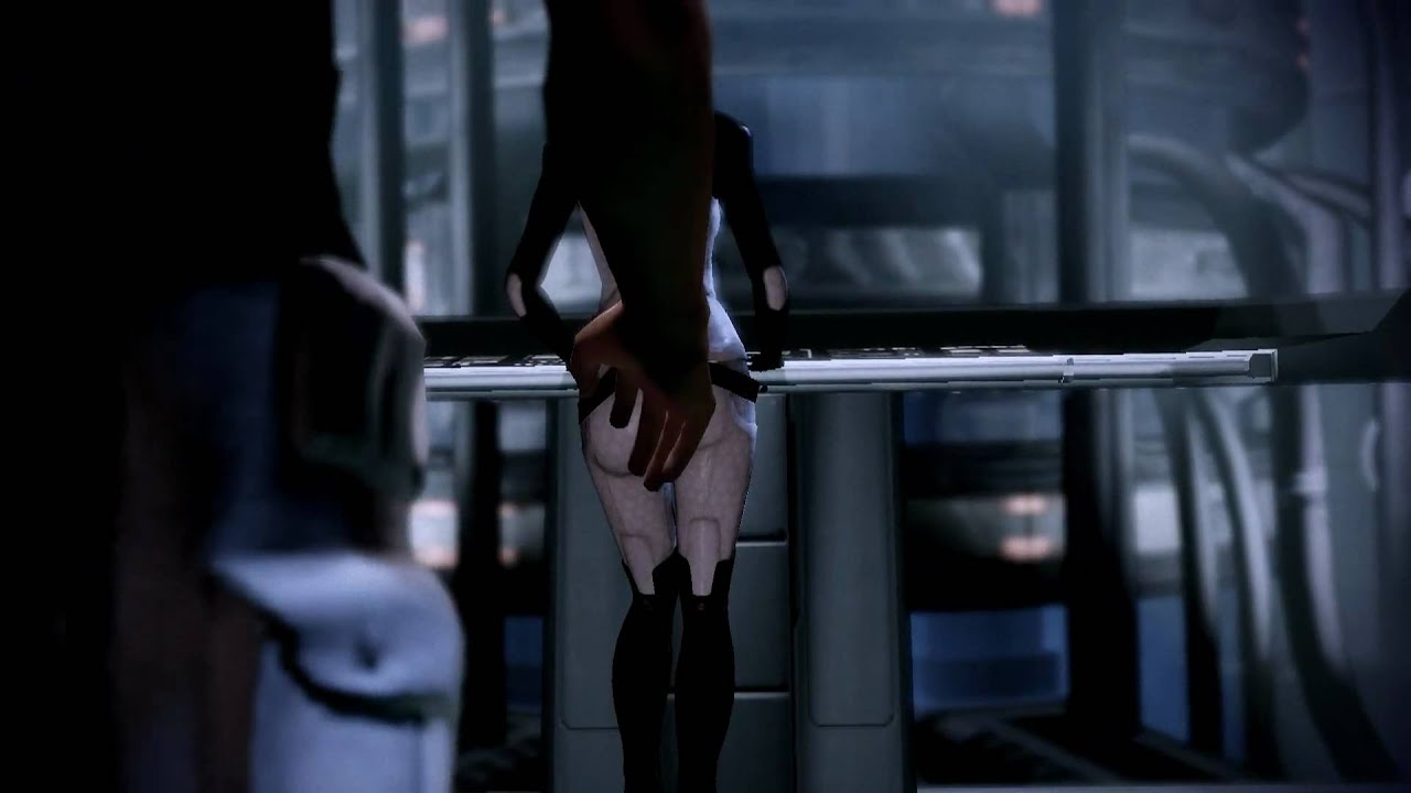 mass effect miranda sex scene