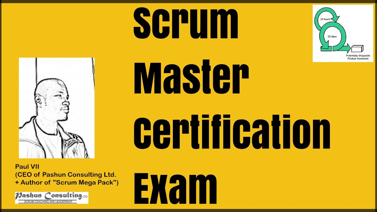 Scrum Master Certification Exam How To Use The Scrum Guide To Get