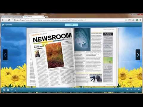 Flip html5 - free digital magazine software to create online html5 flip magazine