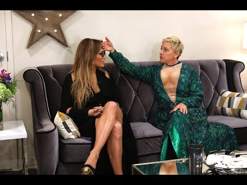 Ellen Helps Prep Jennifer Lopez for Her Las Vegas