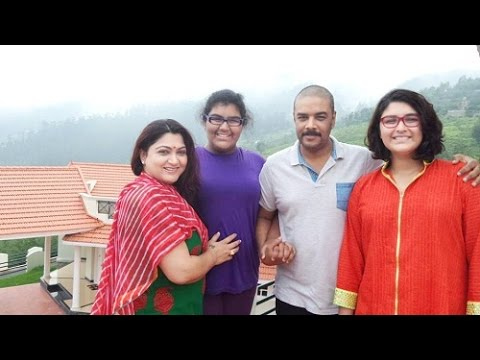 Actress Kushboo Family Video