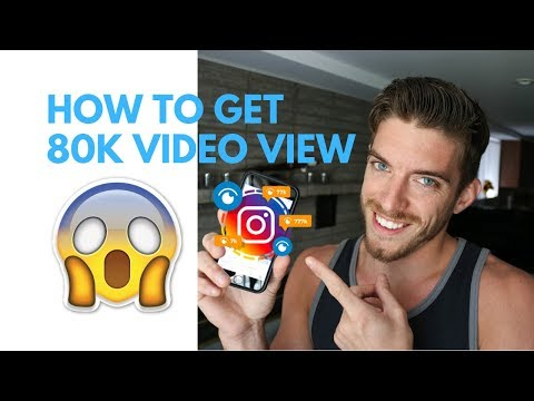 HOW TO GET 80 THOUSAND INSTAGRAM VIDEO VIEWS (NINJA SECRETS!!!)
