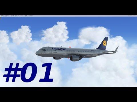 Prepar3d Aerosoft A320 München - Istanbul #01