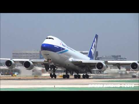 Dedication Video of Boeing 747-400 Freighters at LAX