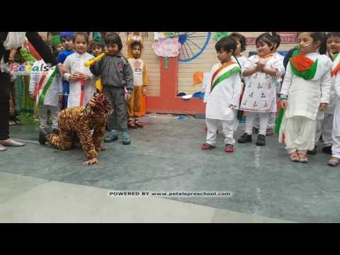 National Symbols Performance by Kids Petals Republic Day Celebrations 2017