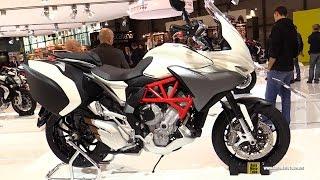 2015 MV Agusta Turismo Veloce 800 Lusso - Walkaround - 2014 EICMA Milan Motorcycle Exhibition