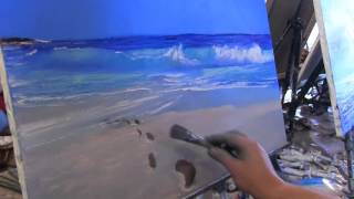 002 море   Игорь Сахаров Уроки живописи
