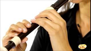 Minueto de Bach  Flauta Doce