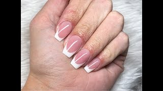 Polygel removal | Application | French nails