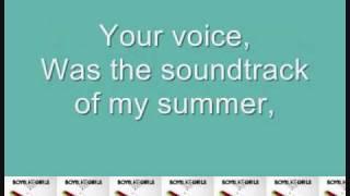 Thunder by Boys Like Girls (with lyrics on screen!)