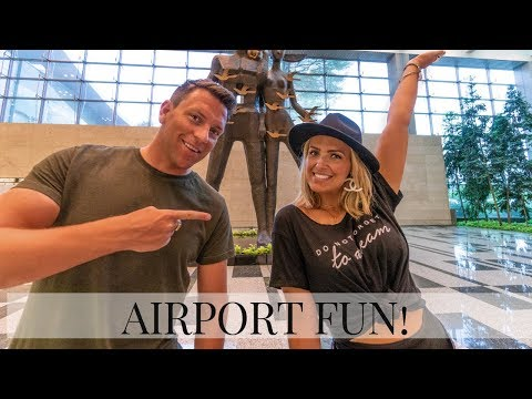 INSIDE CHANGI AIRPORT IN SINGAPORE | BEST AIRPORT IN THE WORLD GUIDE