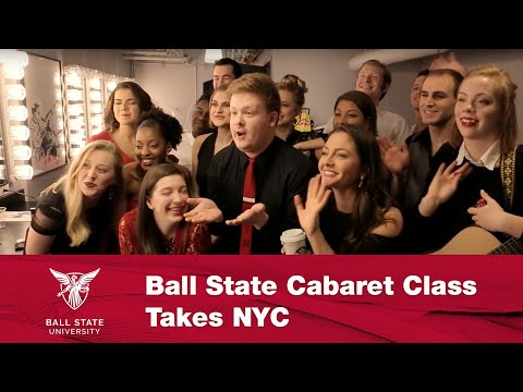 Ball State Cabaret Class Takes NYC