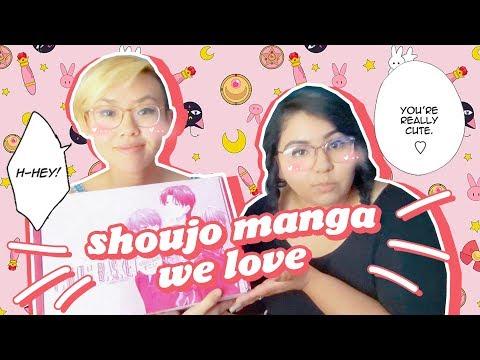 TRASH ROMANCE BOOKS THAT WE LOVE 💖 Shoujo Manga Recs + Fruits Basket JapanCrate Taste Test