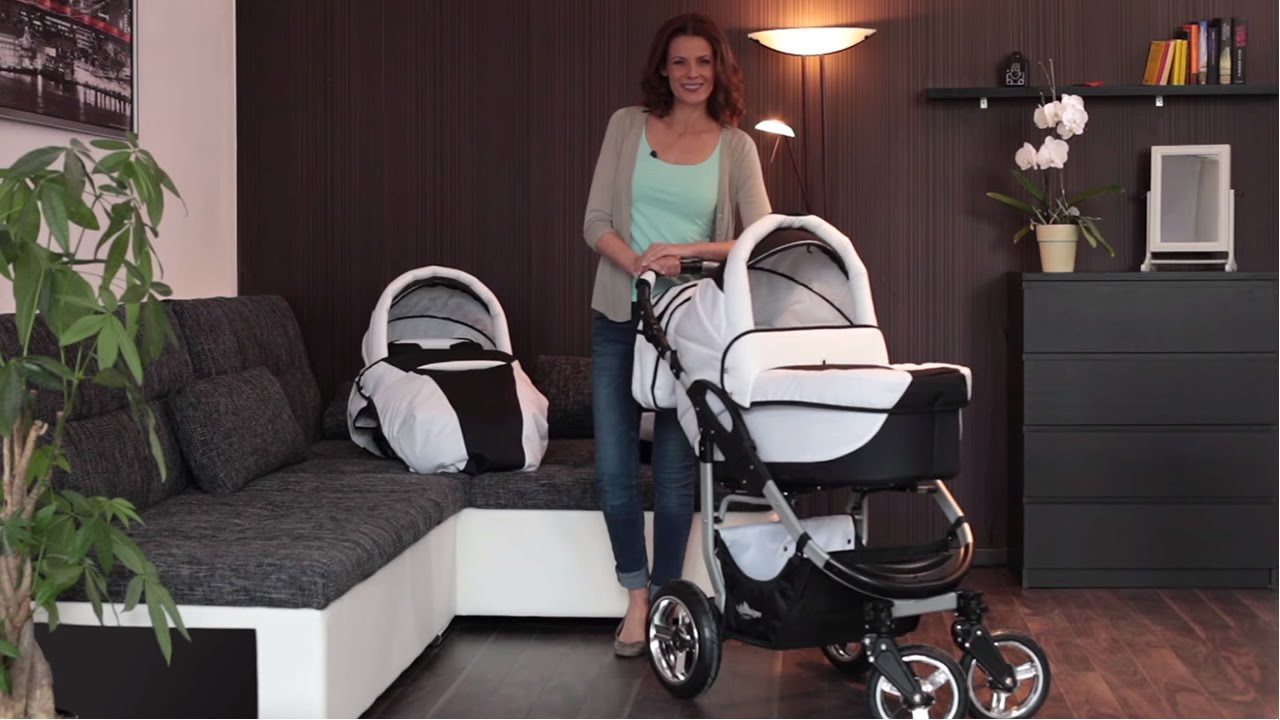 bergsteiger capri kinderwagen youtube. Black Bedroom Furniture Sets. Home Design Ideas
