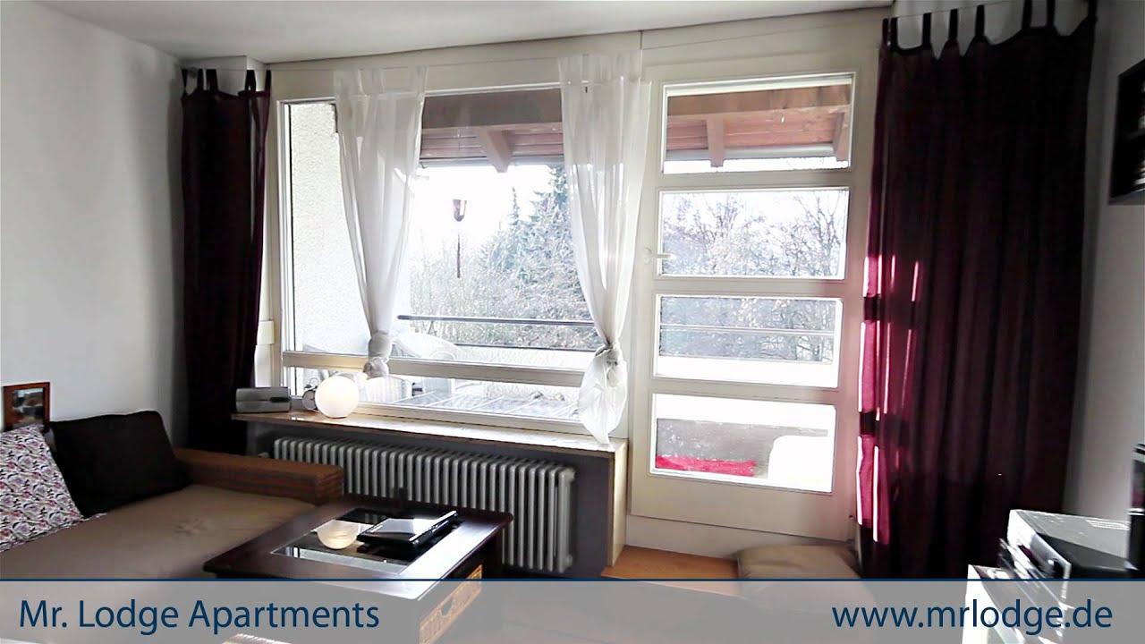 Schne mblierte 15Zimmer Wohnung in Mnchen Harlaching