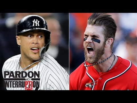 Should Yankees trade Giancarlo Stanton to go after Bryce Harper? | Pardon the Interruption