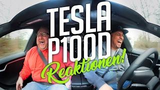 JP Performance - Tesla P100D | Reaktionen!