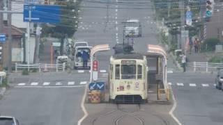 函館市電710形 谷地頭停留場発車 Hakodate City Tram 710 series tramcar