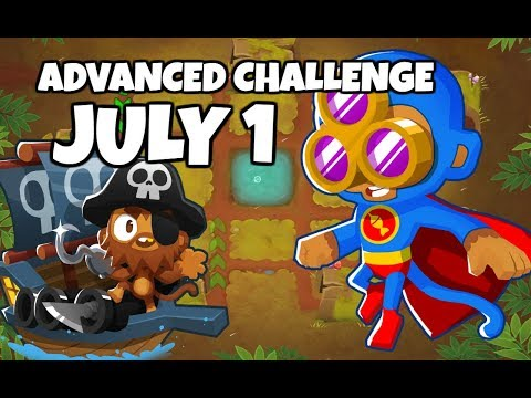 BTD6 Advanced Challenge - A Tower Is What I Need - July 1 2019
