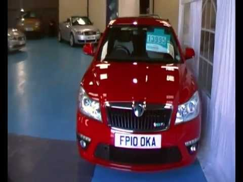 www.tradevaluecars.com Skoda Octavia 2.0T FSI VRS 5DR DSG FULL SERVICE HISTORY £13,995