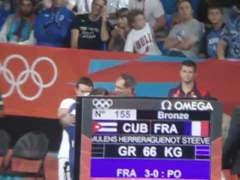 French Wreistler Steeve Guenot Won Bronze Medal at London 2012 Summer Olympic Games