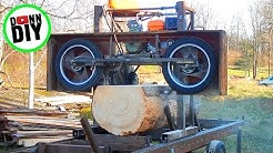 Maximum Cut Width - Homemade Sawmill #27