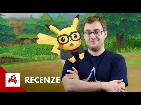 Pokémon: Let's Go Pikachu - Recenze