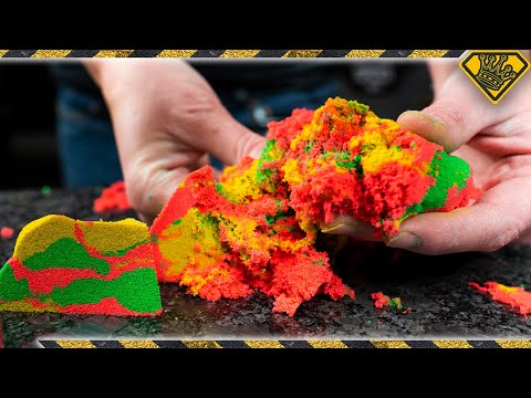 Can We Perfect a Kinetic Sand Recipe?