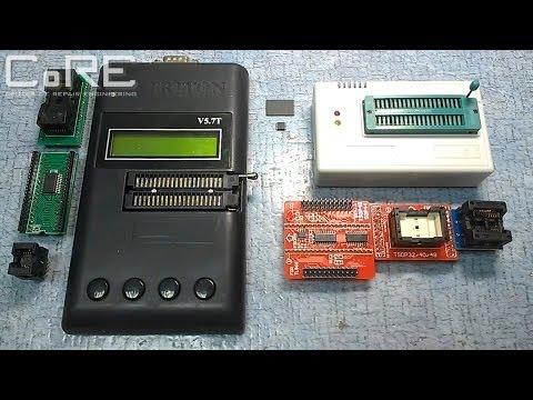 Обзор и тест китайского программатора Minipro TL866 и программатора Triton V5.7T