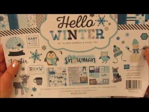 **For Sale*  Hello Winter Mini Album