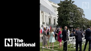 Politicians Gather On White House Lawn After Signing Of Abraham Accord