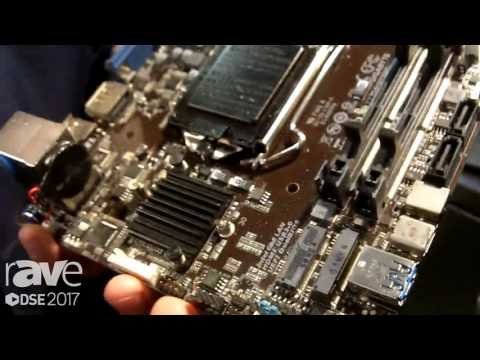 DSE 2017: GIGABYTE Talks About GA-H110MSTX-HD3 Motherboard